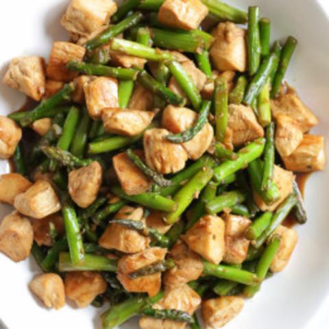 Teriyaki Chicken and Asparagus Stir-Fry