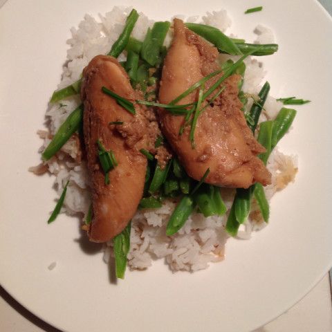 Teriyaki Chicken with Ginger Rice