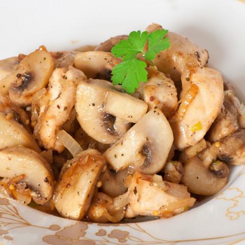 Teriyaki Mushrooms