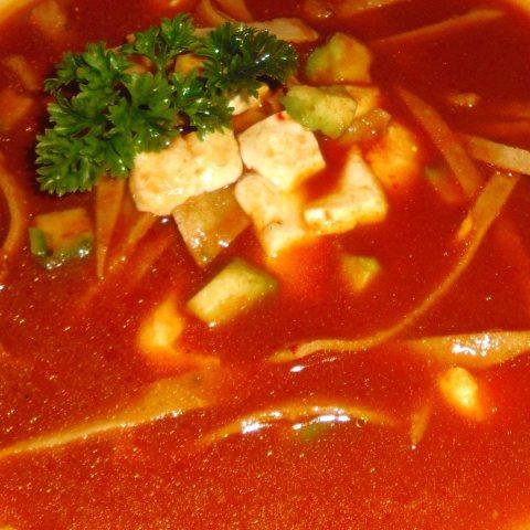 Tex-mex Tortilla Soup