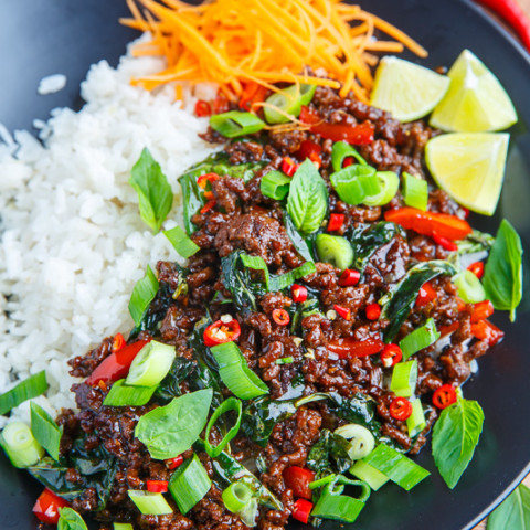 Thai Basil Beef