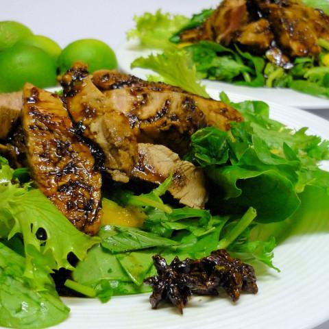 Thai Caramelised Pork Salad
