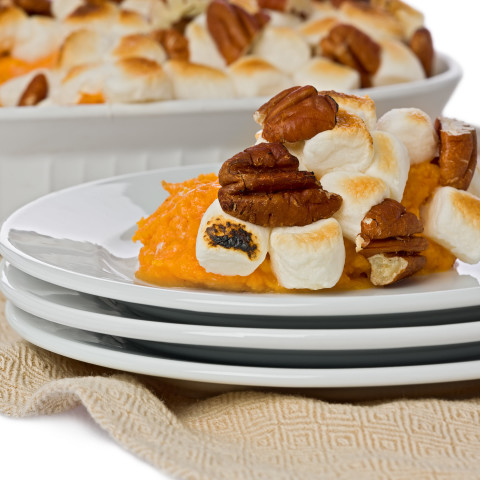 THANKSGIVING YAMS WITH TOPPING