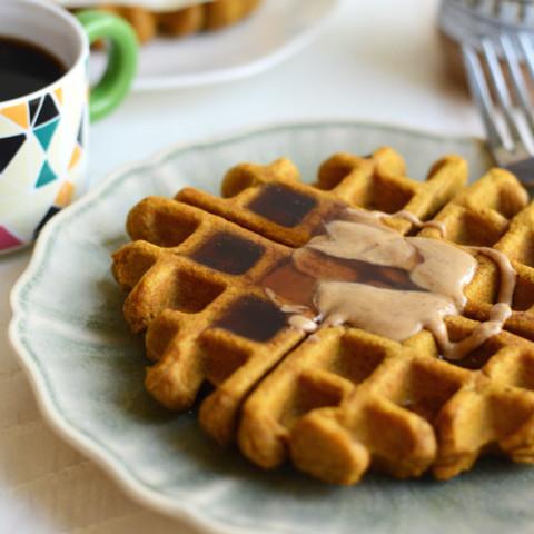 The Best Ever Gluten-Free Pumpkin Waffles