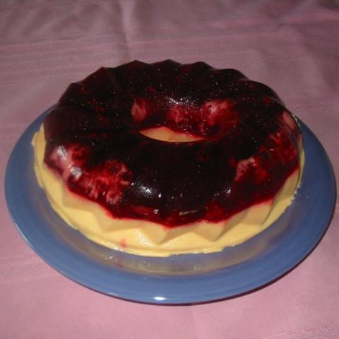 The Best Raspberry Lemon Jello Dessert