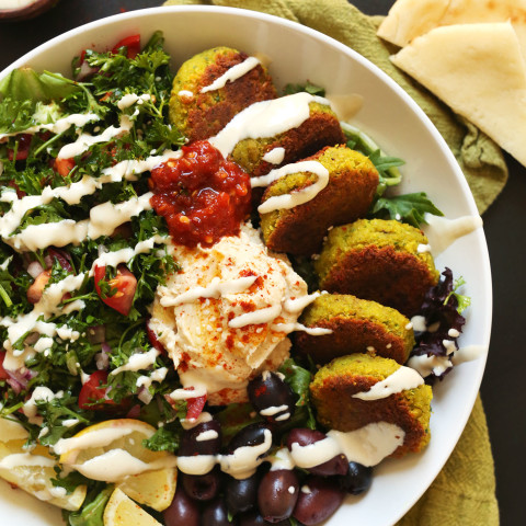 The Ultimate Mediterranean Bowl