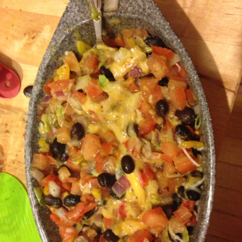 The World's Best Bean Dip