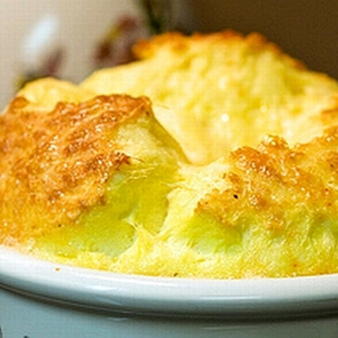 Try this Three Cheese Souffle recipe, or contribute your own.