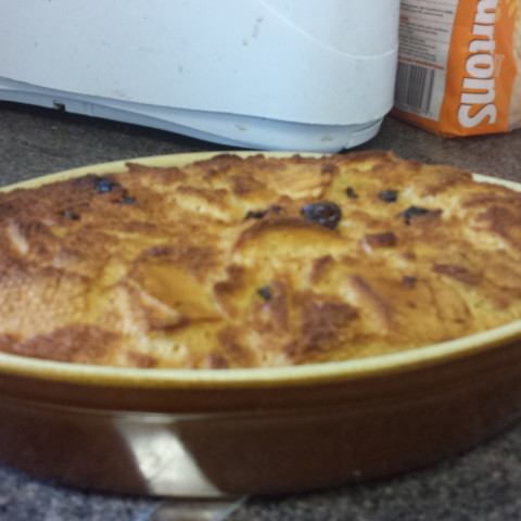 Tipsy Bread And Butter Pudding