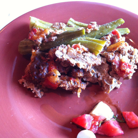 Tomato Beef and Okra