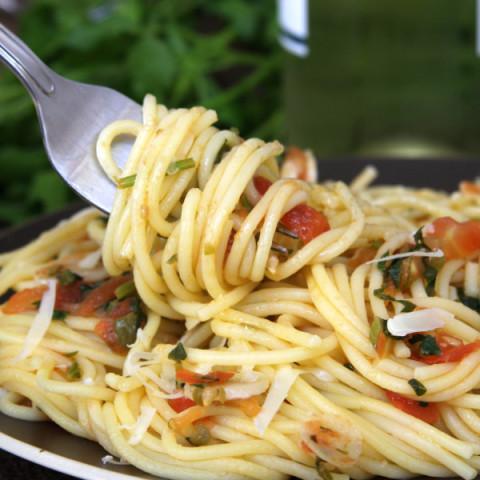 Tomato Caper Pasta