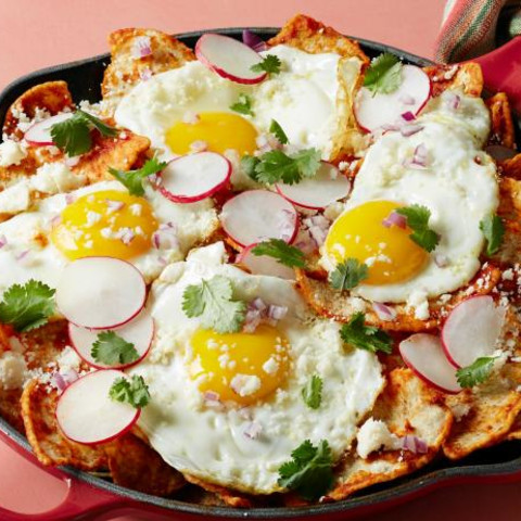 Tortilla Chip Chilaquiles