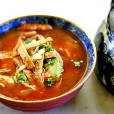 Tortilla Soup (Vitamix)