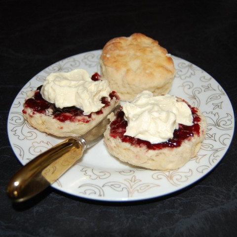 Traditional Devonshire Tea Scones