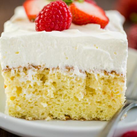 Tres Leches Cake Recipe (VIDEO)