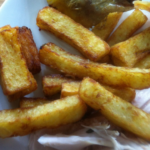 Triple Cooked Chips (with vacuum chamber)