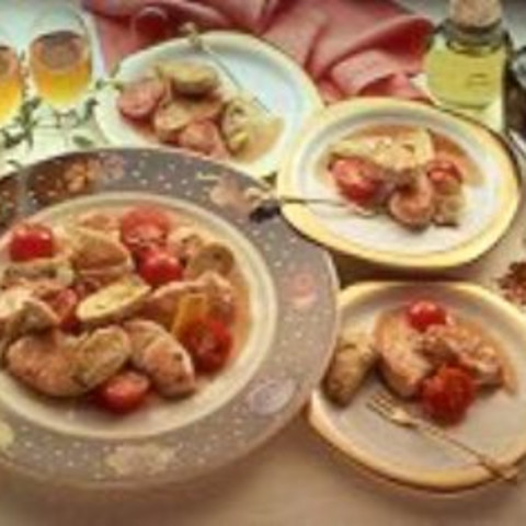 Turkey, Artichoke and Tomato Tapas