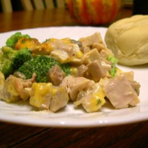 Turkey Broccoli Casserole