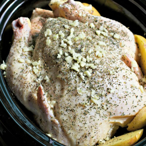 Tuscan Chicken with Buttery Yukon Gold Potatoes