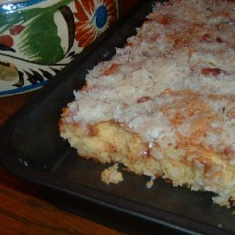 Ugly Duckling Pudding Cake