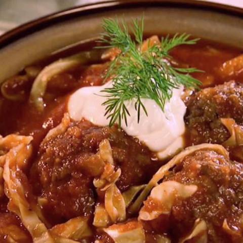 Un-Stuffed Cabbage Soup