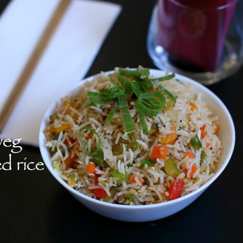 veg fried rice recipe | fried rice recipe