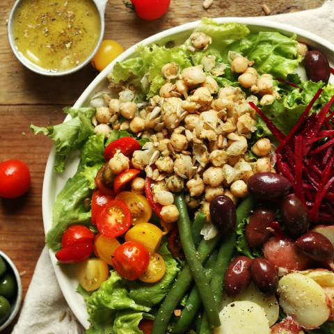 Vegan Nicoise Salad (30 minutes!)