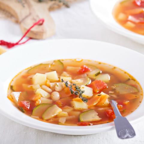 Vegan Veggie Soup