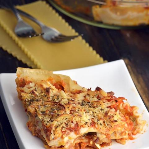 Vegetable Lasagne, Vegetable Lasagne