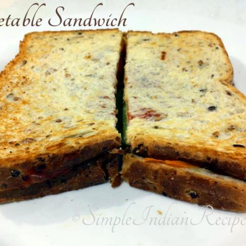 Vegetable Sandwich - Veg Sandwich