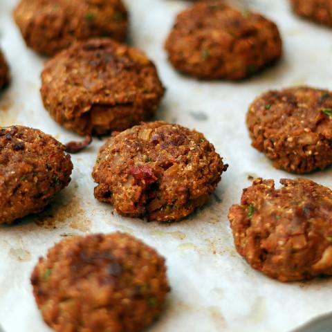 Vegetarian Rissoles With Textured Vegetable Protein Tvp