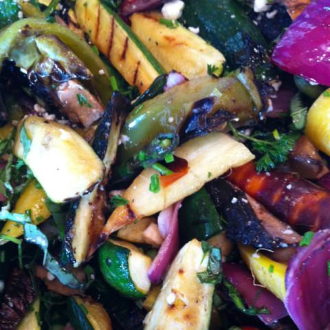 Veggie: Grilled Vegetable Salad