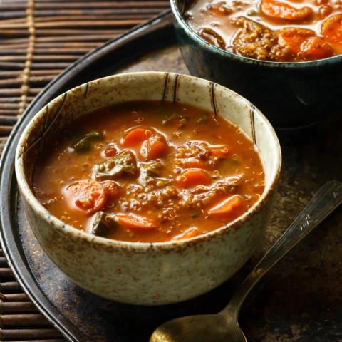 Veggie-Packed Low FODMAP Soup Recipe