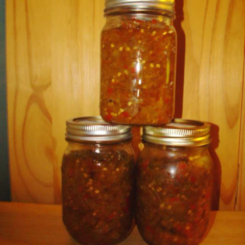 Vern's Hot Pepper Relish