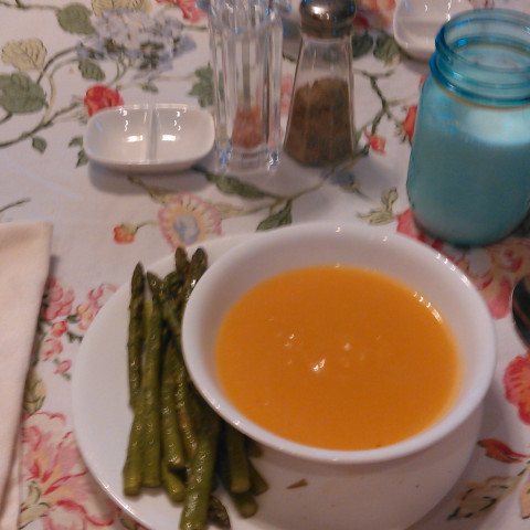 Very Basic Pumpkin Soup
