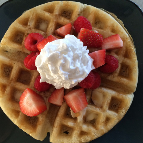 Waffles (gluten free, dairy free)