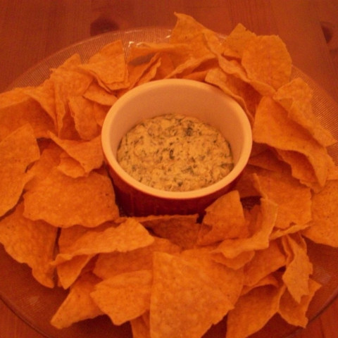 Warm Spinach And Cheese Dip