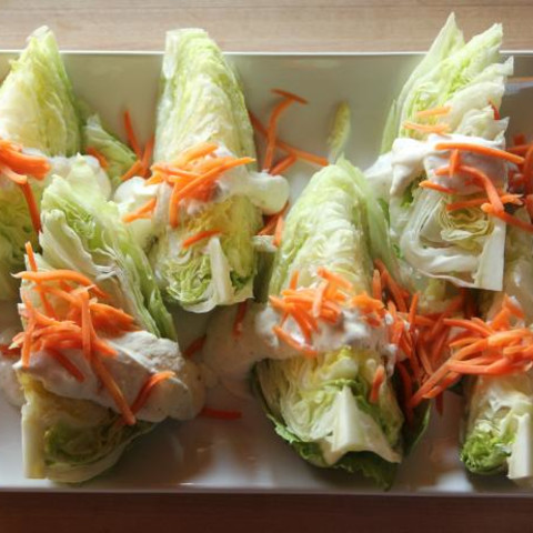 Wedge Salad with Parmesan-Peppercorn Ranch