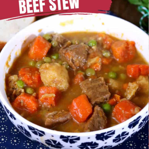Weight Watchers Beef Stew In The Slow Cooker · The Inspiration Edit