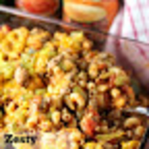 Zesty Sloppy Joe Casserole