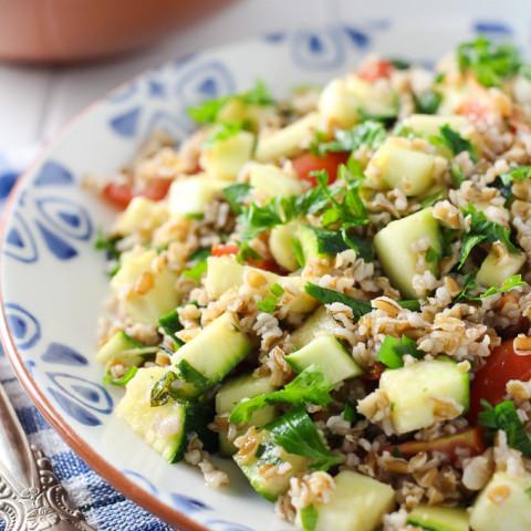 Zucchini Tabbouleh