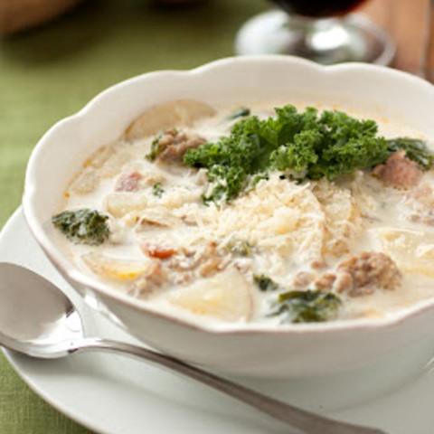 Zuppa toscana soup olive garden copycat recipe for How to make zuppa toscana from olive garden