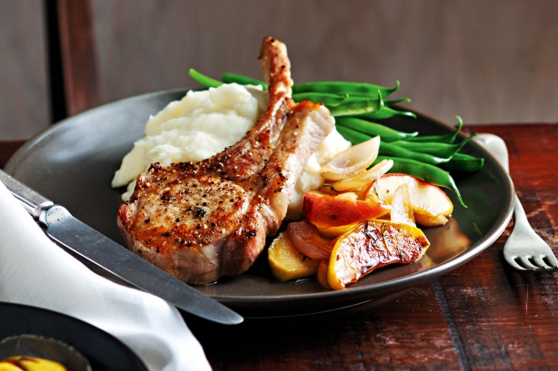 Apple and Maple Pork Chops