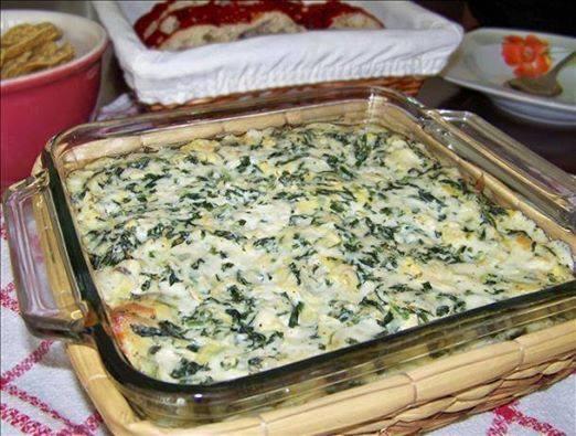 Applebees Hot Spinach and Artichoke DipBigOven