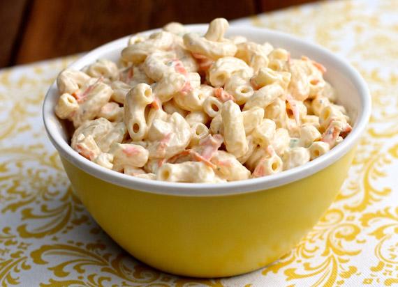 Hawaiian Macaroni Salad Recipe Without Milk