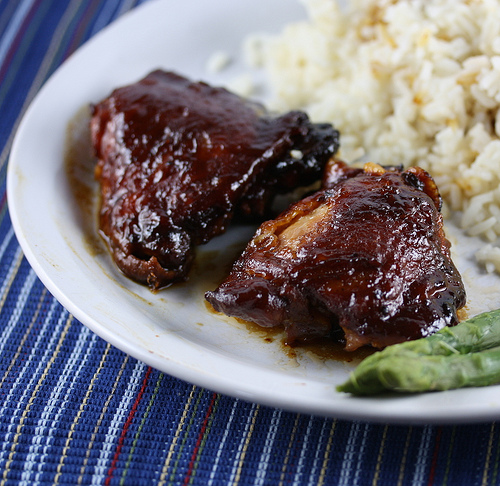 How to cook bbq chicken thighs in a crock pot