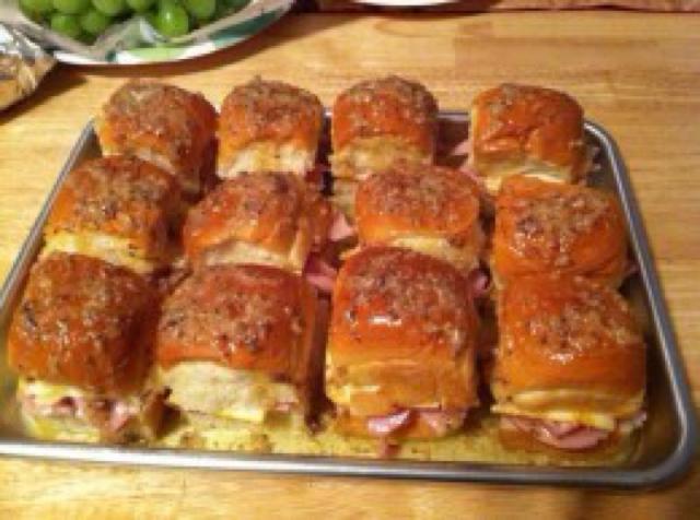 Best Darn Ham Sandwich Ever