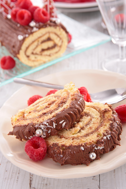 Buche De Noel Yule Log Cake