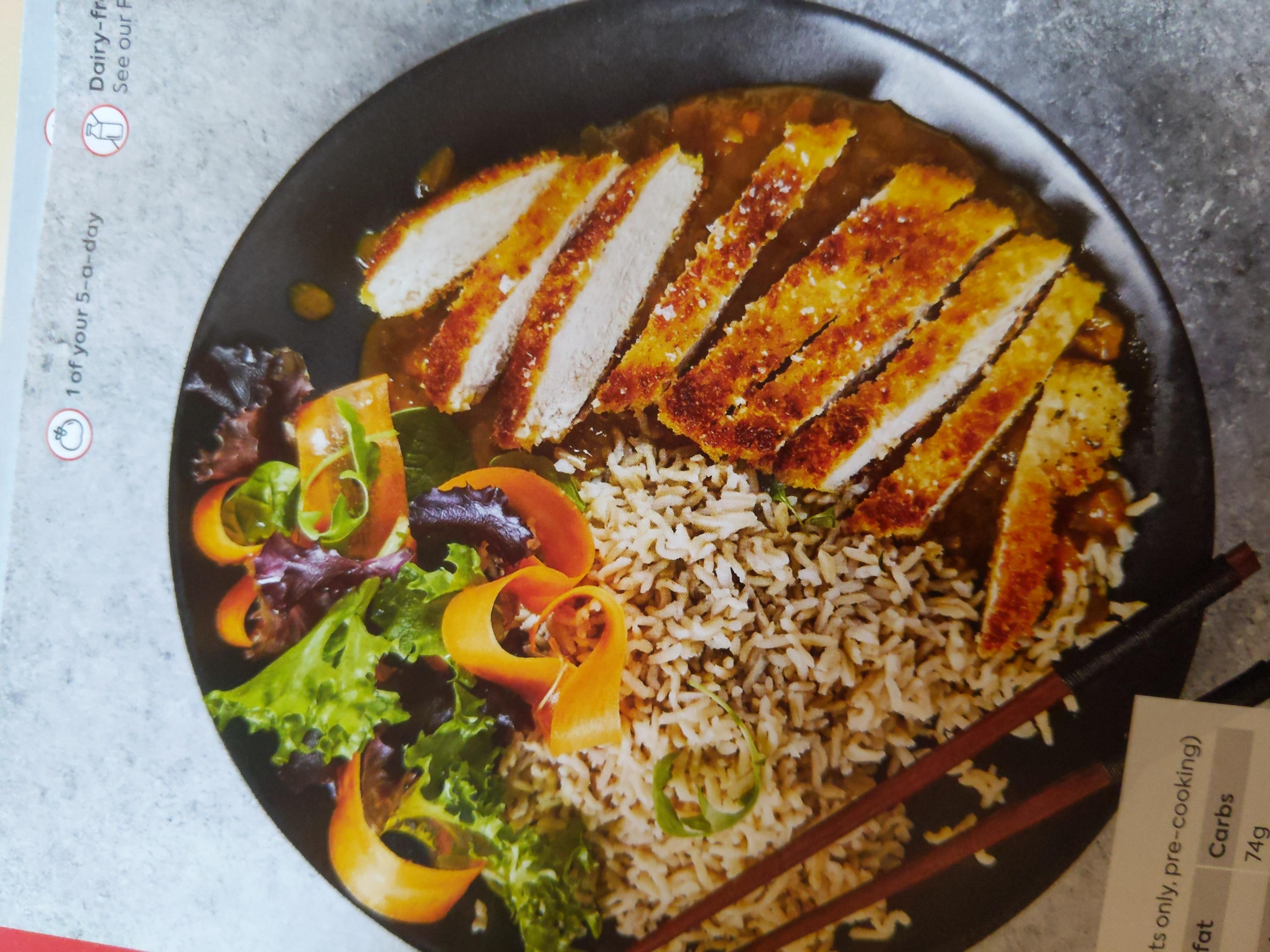Gusto Chicken Katsu Curry