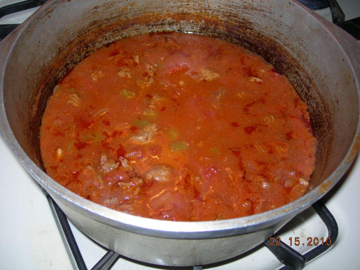 Chili Old Fashioned Simple Delicious